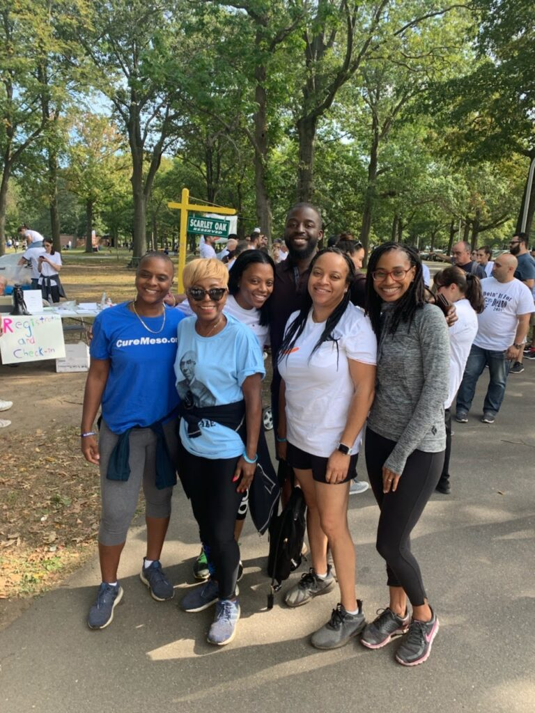 2019 Walk To Cure Meso at Eisenhower Park